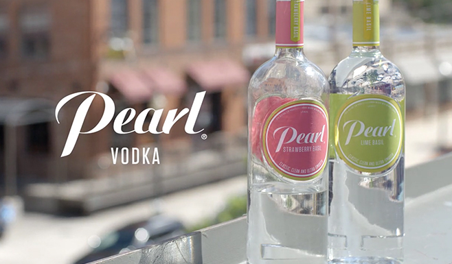 Pearl Vodka Activation
